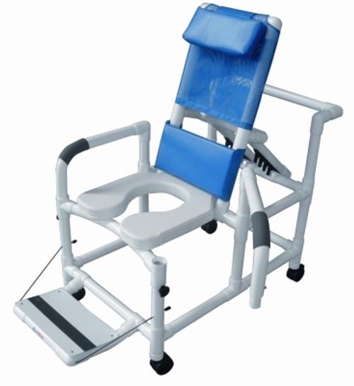PVC Reclining Shower Chair