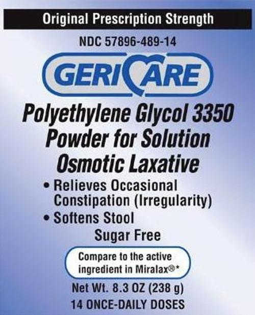 Polyethylene Glycol 3350 Powder for Solution Osmotic Laxative 1