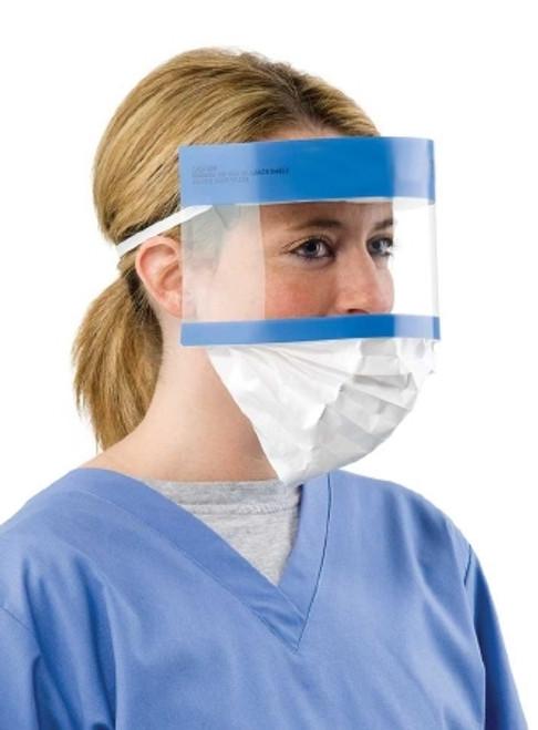Splash Shield Visor with Mask
