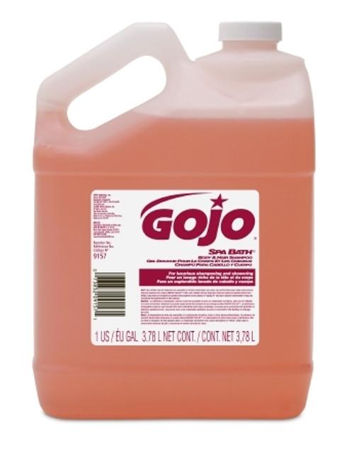 Shampoo and Body Wash Gojo Spa Bath Jug Herbal Scent