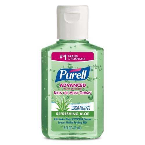 Hand Sanitizer with Aloe Purell Alcohol (Ethyl) Gel Bottle