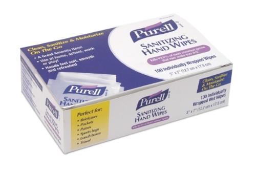 GOJO Purell Sanitizing Skin Wipe 1