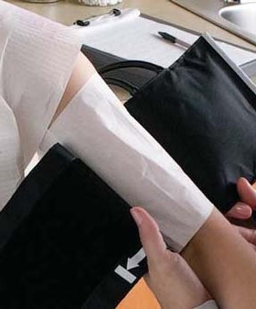 Blood Pressure Cuff Barrier Fabricel