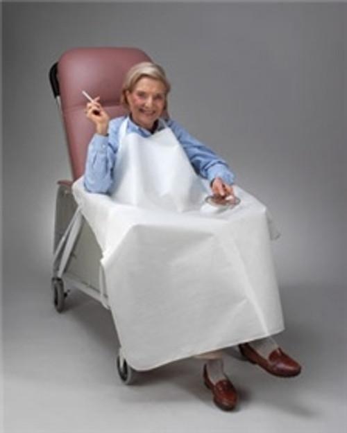 Wheelchair Smoker's Apron