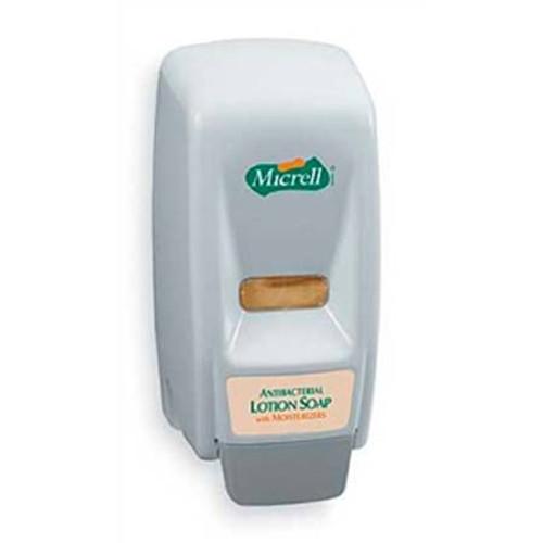 Micrell Hand Soap Dispenser 800 mL, Wall Mount - 12ea