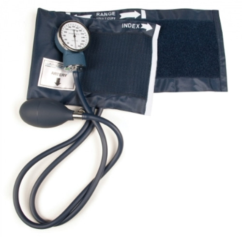 Aneroid Blood Pressure Monitor with Adjustable Gauage, Lumiscope