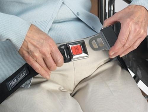 Skil-Care Wheelchair Seat Belt with Buckle Sensor
