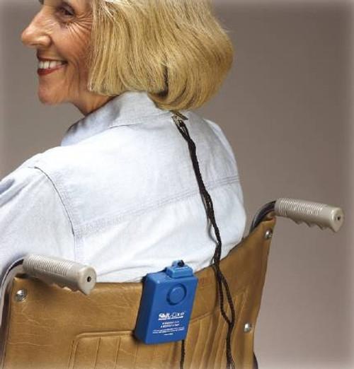 Patient Monitoring Alarm Blue