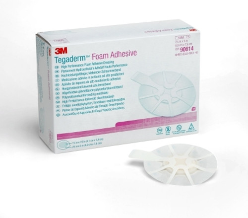 Foam Dressing Tegaderm Oval Adhesive with Border Sterile