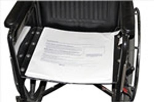 Bi-Fold Sensor Pad for Chair or Bed