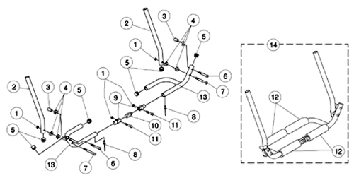 SCREW BTN HD SKT 1/4-20X2 IN 9153606875