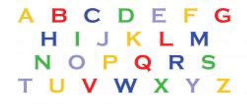 Letter and Number Gel Packs