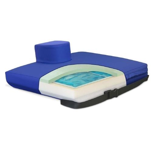 Apex Core Gel / Foam Seat Cushion with Pommel