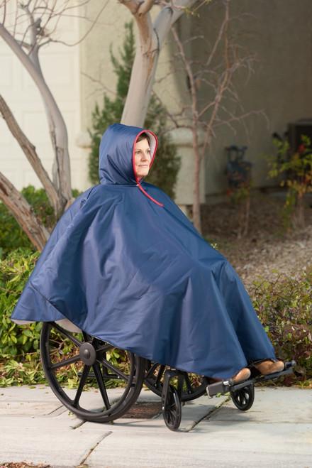 Wheelchair Winter Poncho