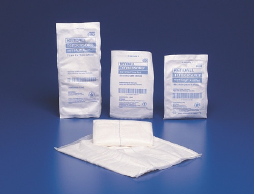 Abdominal Pad Curity NonWoven Fluff Wet Proof Barrier Rectangle Sterile