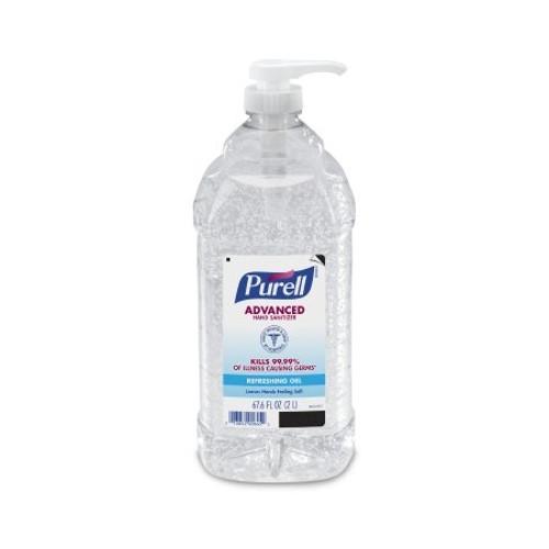 Purell Hand Sanitizer 2 Liter Alcohol (Ethyl) Gel Pump Bottle
