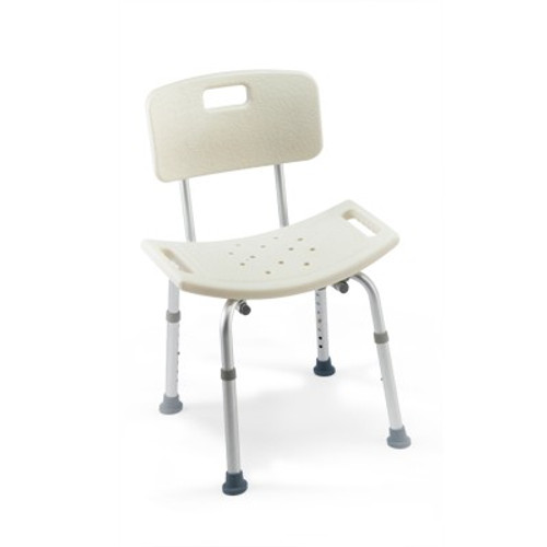 CareGuard Tool-less Shower Chair w/ Back
