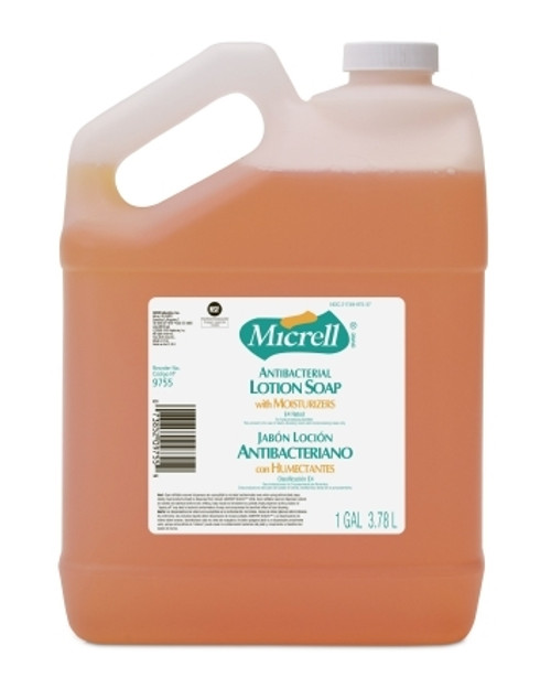 Antibacterial Soap Micrell Lotion Jug Scented