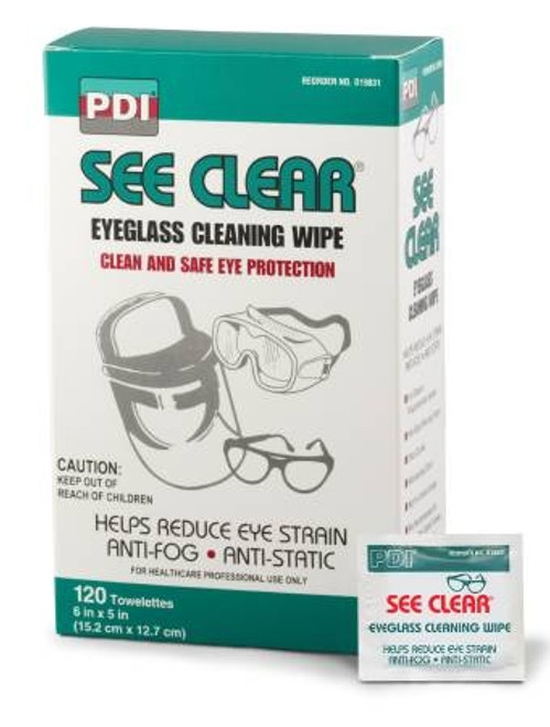See Clear Eye Glass Cleaning Wipes