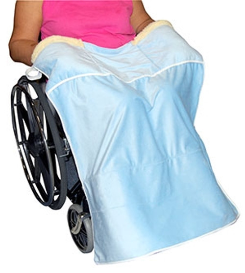 Lap Blanket with Hand Warmer