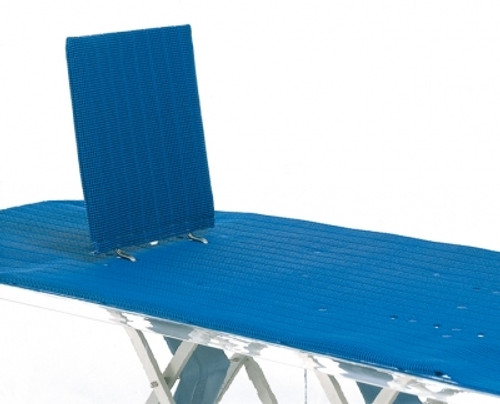 Straight Back Support For Water Powered Bathlifts
