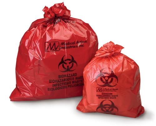 Biohazardous Waste Bags