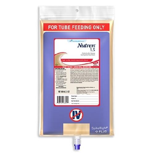 Tube Feeding Formula Nutren Bag Hang Unflavored Adult