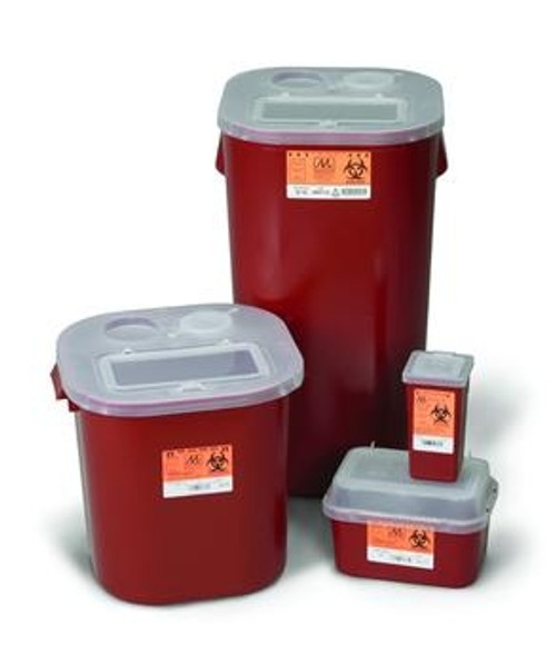 stackable sharps containers