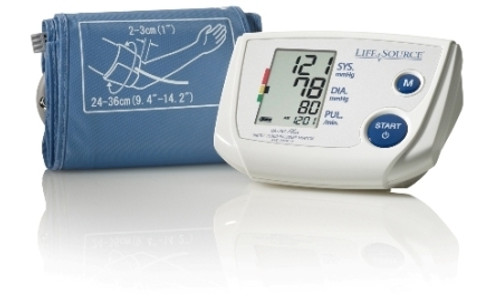 One Step Plus Memory Auto-Inflation Blood Pressure Monitor