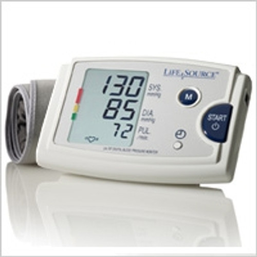 Quick Response Blood Pressure Monitor with Easy-Fit Cuff