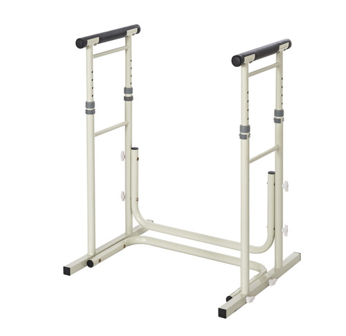 Height Adjustable Standing Toilet Safety Rails