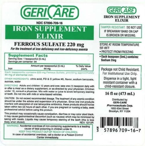 Ferrous Sulfate Elixier