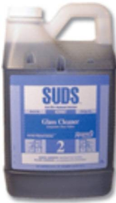 Glass Cleaner, SUDS - Liquid 0.5 Gallon