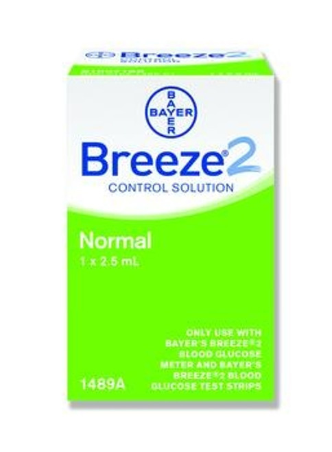 bayer's breeze2 control test solutions