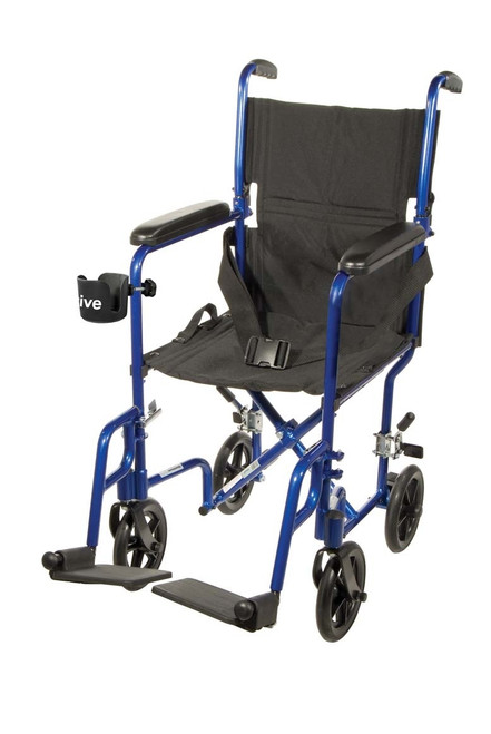 Drive Deluxe Aluminum Transport Wheelchair