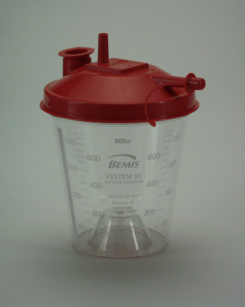 Bemis Hydrophobic Suction Canisters