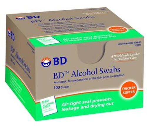 sterile alchcol swabs