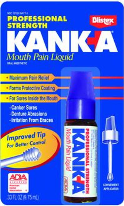 Kank-A Mouth Pain Liquid .33 FL OZ
