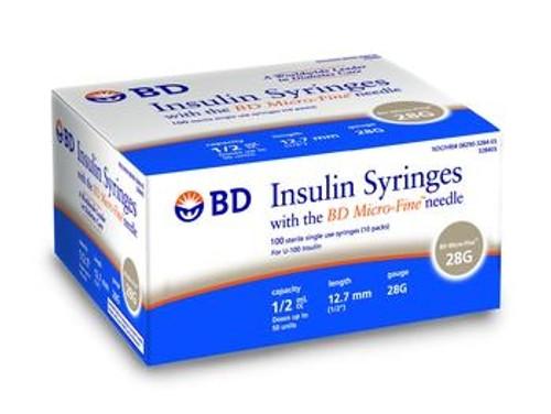 bd ultra-fine insulin syringe