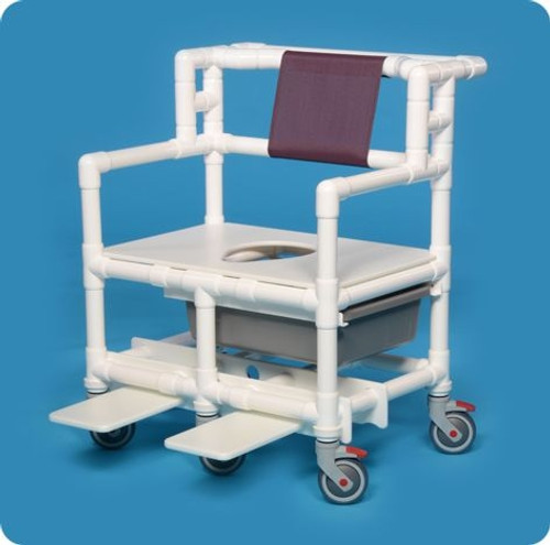 Bariatric Shower Chair Commode - BSC660P