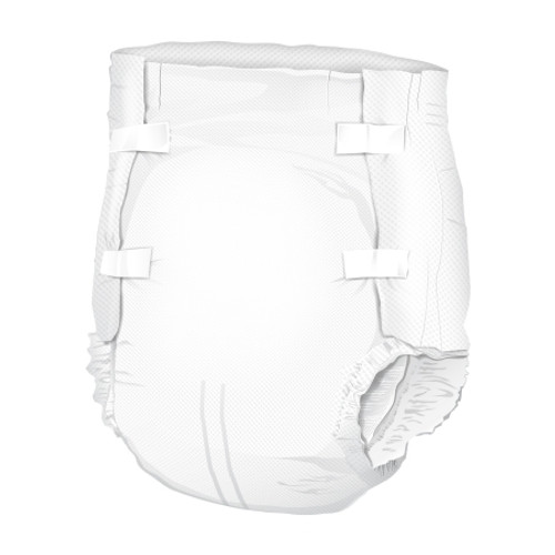 Adult Incontinent Brief McKesson Super Plus Tab Closure Small Disposable Moderate Absorbency
