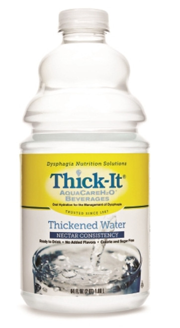Thickened Water Thick-It AquaCareH2O Bottle Unflavored Ready to Use Nectar Consistency