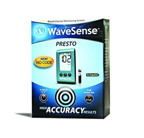 presto blood glucose monitoring kit