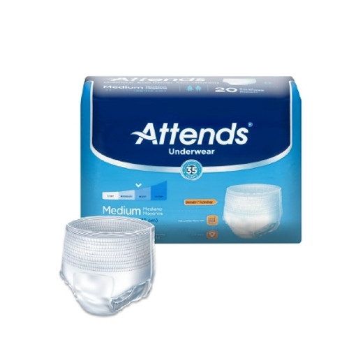 Adult Absorbent Underwear Attends Pull On Disposable Moderate Absorbency