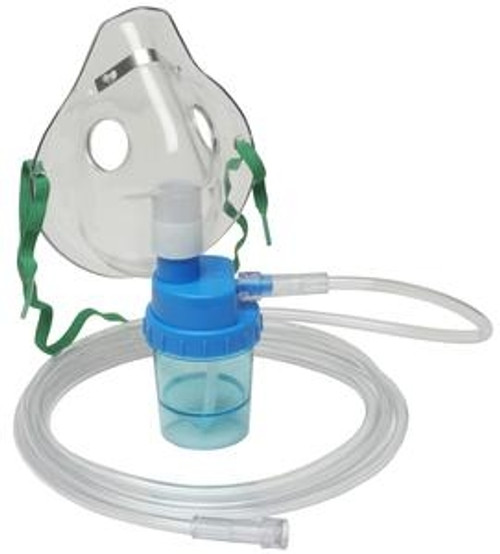 Allied Healthcare Adult Mask with Nebulizer and Tubing