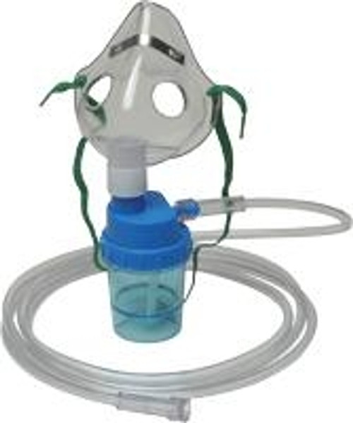 Allied Healthcare Pediatric Mask with Nebulizer and 7' Tubing