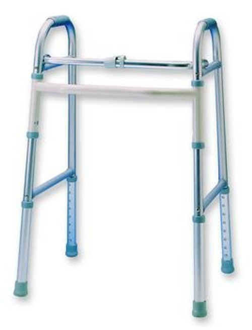 adult single button folding walker