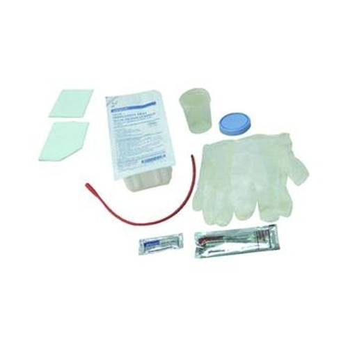 AMSure Urethral Catheterization Tray with Red Rubber Catheter