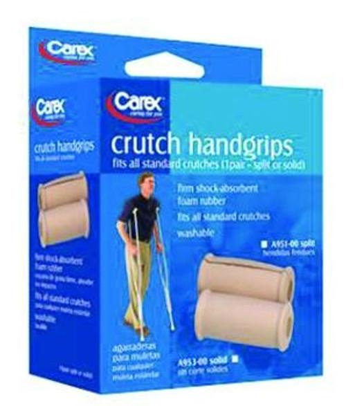 carex split crutch handgrips