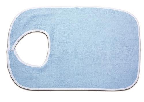 Standard Terry Cloth Bib in Blue